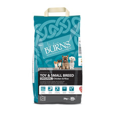 Burns Original Toy And Small Breed With Chicken Dog Food 2kg To 6kg
