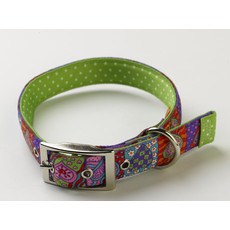 Yellow Dog Design Uptown Crazy Heart Buckle Dog Collar Small To Large