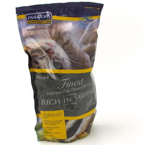 Fish4cats Finest Grain Free Cat Food With Sardine 400g To 1.5kg