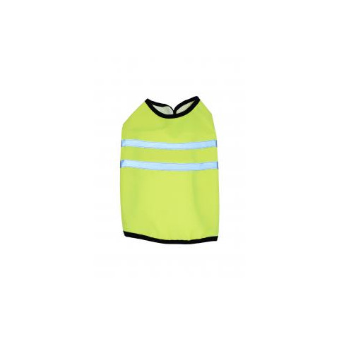 Happy Pet Petgear High Visibility Dog Walking Jacket In Yellow 8in To 20in
