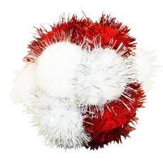 Happy Pet Christmas Tinsel Pom Pom Cat Toy