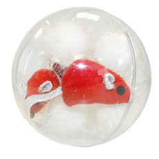 Happy Pet Christmas Luxury Mice Bauble Cat Toy