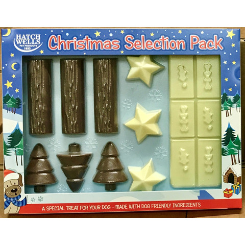 Hatchwells Christmas Chocolate Selection Treat Pack For Dogs