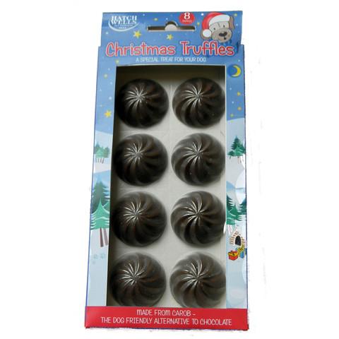 Hatchwells Christmas Chocolate Truffles Dog Treats