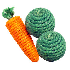 Happy Pet Christmas Vegetables Small Animal Chew Toy