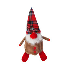 Ancol Christmas Mr Claus Dog Toy