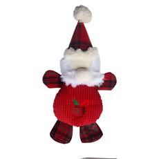Ancol Christmas Father Christmas Dog Toy