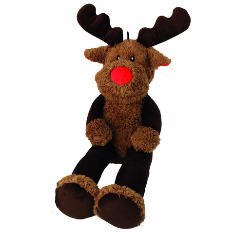 Happy Pet Christmas Supersize Reindeer Dog Toy