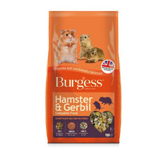 Burgess Hamster And Gerbil Complete Food 700g