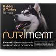 Nutriment Rabbit & Turkey Formula Raw Frozen Adult Dog Food Tub 500g