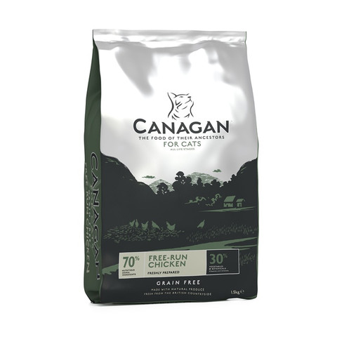 Canagan Free Run Chicken Grain Free All Breeds & Life Stage Cat Food 4kg