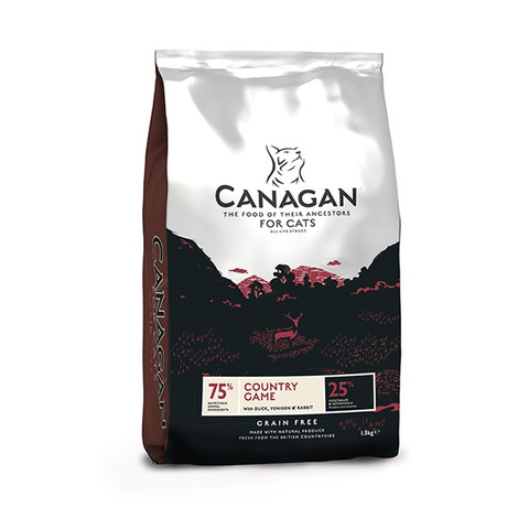 Canagan Country Game Grain Free All Breeds & Life Stage Cat Food 4kg