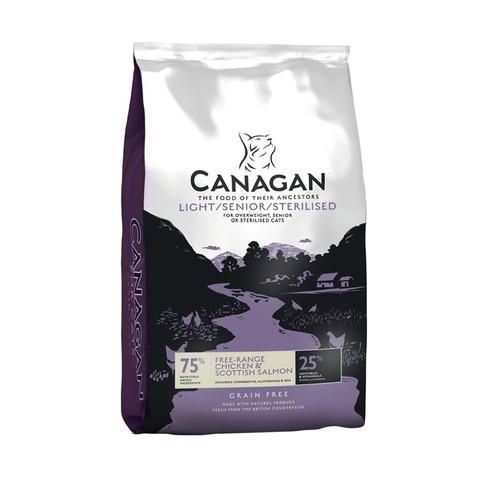 Canagan Light Senior Sterilised Grain Free All Breeds Cat Food 1.5kg