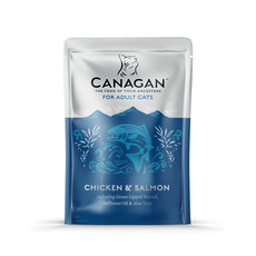 Canagan Chicken And Salmon Grain Free Wet Cat Food 8 X 85g