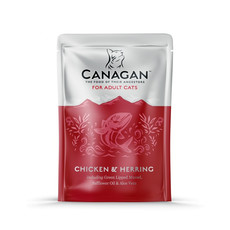 Canagan Chicken And Herring Grain Free Wet Cat Food 8 X 85g