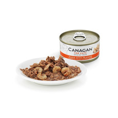 Canagan Tuna And Prawn Grain Free Wet Cat Food 12 X 75g