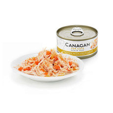 Canagan Chicken And Vegetables Grain Free Wet Cat Food 12 X 75g