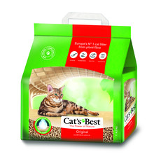 Cats Best Okoplus Wood Clumping Cat Litter 4.3kg
