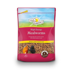 Walter Harrisons High Energy Mealworms For Wild Birds 500g