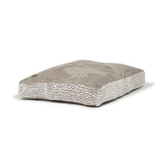 Danish Design Arctic Grey Faux Suede Box Duvet Dog Bed Large