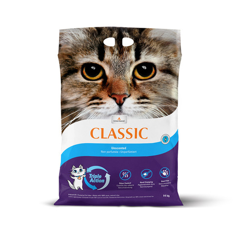 Intersand City Classic Unscented Clumping Cat Litter 14kg