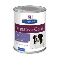 Hills Prescription Diet I/d Canine Low Fat Wet Tins 12x360g