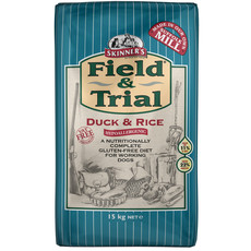 Skinners Field And Trial With Duck And Rice Dog Food 15kg