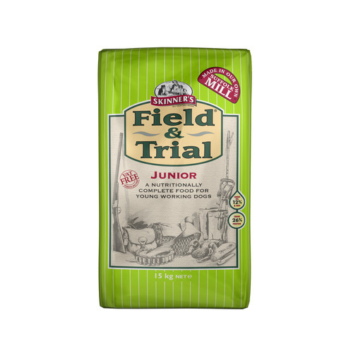 Skinners Field And Trial Junior Dog Food 15kg
