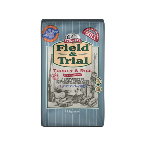 Skinners Field And Trial Turkey And Rice Dog Food 15kg