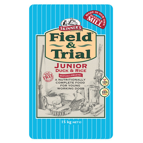 Skinners Field And Trial Junior Duck And Rice Dog Food 15kg