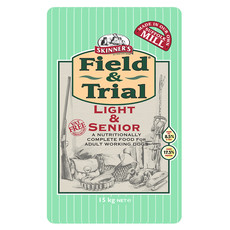 Skinners Field And Trial Light And Senior Dog Food 15kg