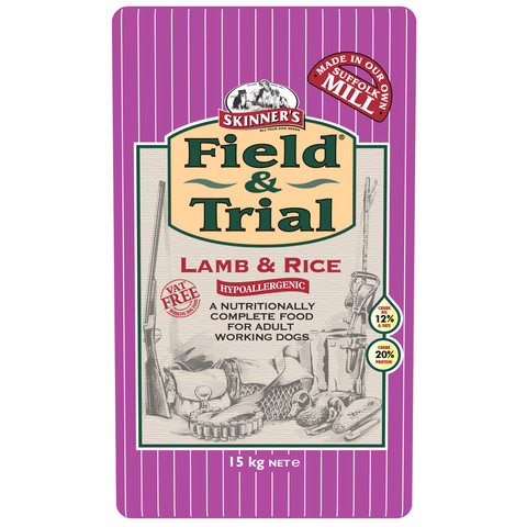 Skinners Field And Trial Lamb And Rice Dog Food 15kg