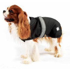 Danish Design 2 In 1 Four Seasons Black Dog Coat 10in To 28in