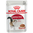 Royal Canin Instinctive Cat Food In Gravy Pouches 12 X 85g