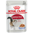 Royal Canin Instinctive Cat Food In Jelly Pouches 12 X 85g