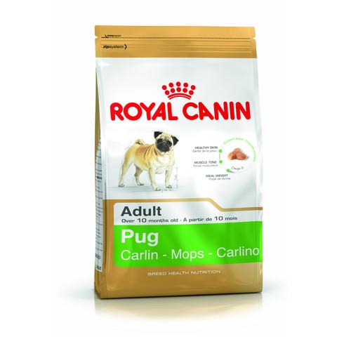 Royal Canin Pug Adult Dog Food 1.5kg To 2 X 7.5kg