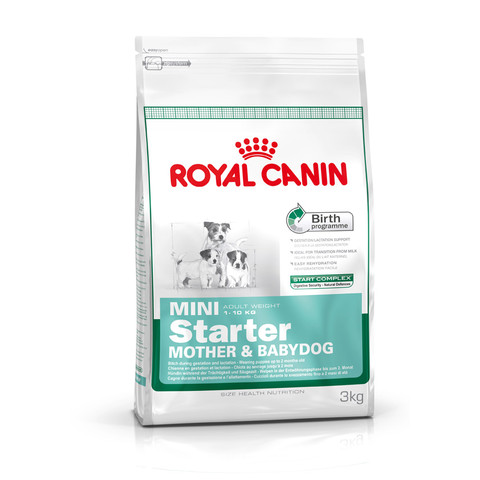Royal Canin Mini Starter Mother And Babydog Food 1kg To 2 X 8.5kg