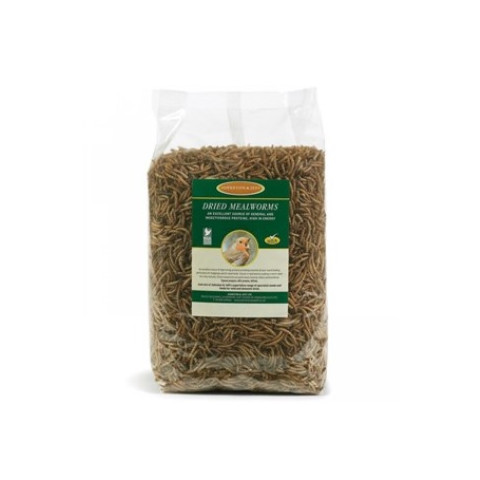 Johnston & Jeff High Energy Mealworms For Wild Birds 12.55kg