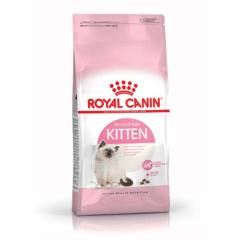 Royal Canin Second Age Kitten Food 400g To 10kg