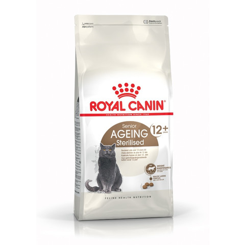 Royal Canin Senior Ageing Sterilised 12+ Cat Food 400g To 4kg