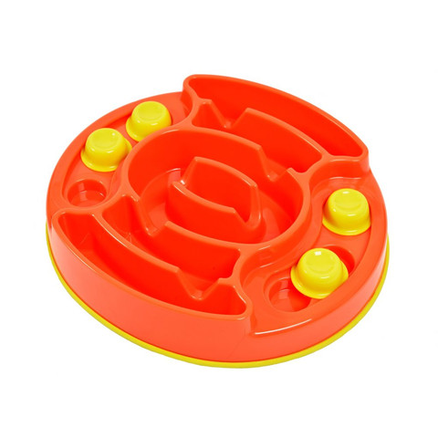 K9 Pursuits Forage Slider Slow Feeding Dog Bowl & Game