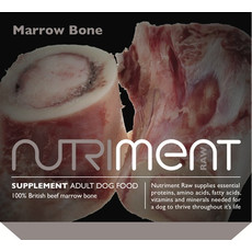 Nutriment Marrow Bone For Large Dogs Frozen Raw Dog Chew 500g