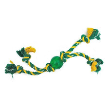 Gor Pets Quad Tug Rope Ball Dog Toy 40cm