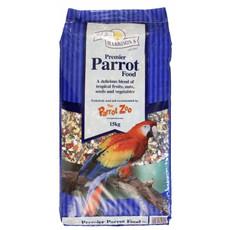 Walter Harrisons Premier Parrot Mix Complete Food 2.25kg To 15kg