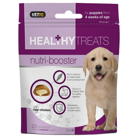 Mark And Chappell Vetiq Healthy Treats Nutri-boosters For Puppies 50g