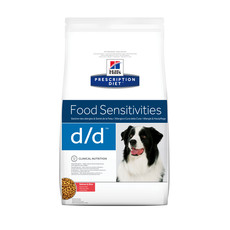Hills Prescription Diet D/d Canine Food Sensitivities Salmon Dry Food 2kg To 12kg
