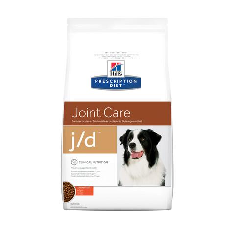 Hills Prescription Diet J/d Canine Joint Care Chicken Dry Food 2kg To 12kg