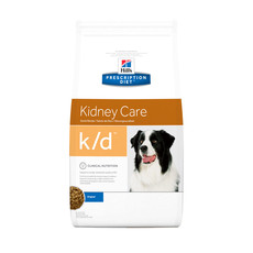 Hills Prescription Diet K/d Canine Kidney Care Original Dry Food 2kg To 12kg