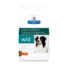Hills Prescription Diet W/d Canine Digestive Weight Diabetes Management Chicken Dry Food 1.5kg To 12kg