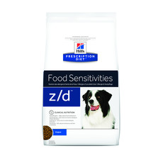 Hills Prescription Diet Z/d Canine Food Sensitivities Original Dry Food 3kg To 10kg